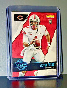 Justin Fields 2021 Panini NFL Instant Draft Night #10 Rookie Card 1 of 3769