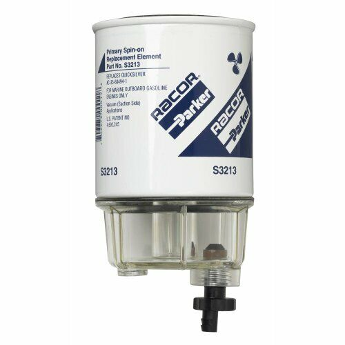 Spin On Fuel Filter for Marine Outboard Gasoline Engines  S3213  C 35 60494 1