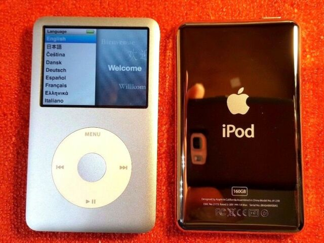 Apple Ipod Classic 7th Generation 160gb Silver For Sale Online Ebay