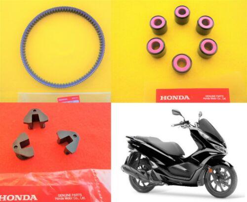 Honda GENUINE PCX 125 Drive Belt /& Roller Set /& Sliders 2018 2019 *UK STOCK*
