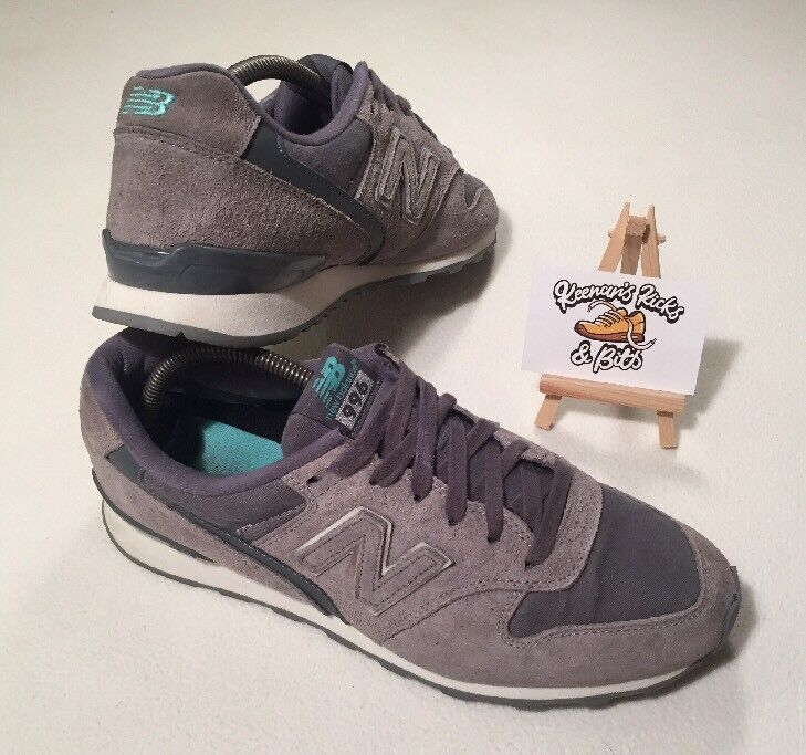 the best attitude c6e28 6b26f New Balance 996 WR996EB Grey Running Trainers  VINTAGE GYM RETRO UNISEX .  Adidas VS PACE AW4594 Men s Sneakers ...