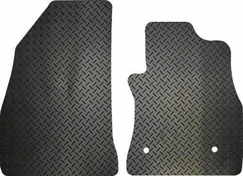 VAUXHALL ASTRA VAN 4 PIECE BLACK CAR FLOOR MAT SET 06-12