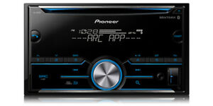 NEW-Pioneer-FH-S500BT-Double-DIN-CD-MP3-Digital-Media-Player-Bluetooth-MIXTRAX
