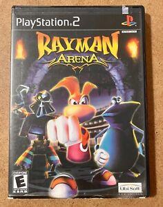 Rayman Arena (Sony PlayStation 2, 2002) PS2 Game, Case, Manual, CIB