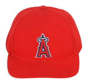 Vintage-Anaheim-Angels-Adjustable-Snapback-Hat-Cap-Red