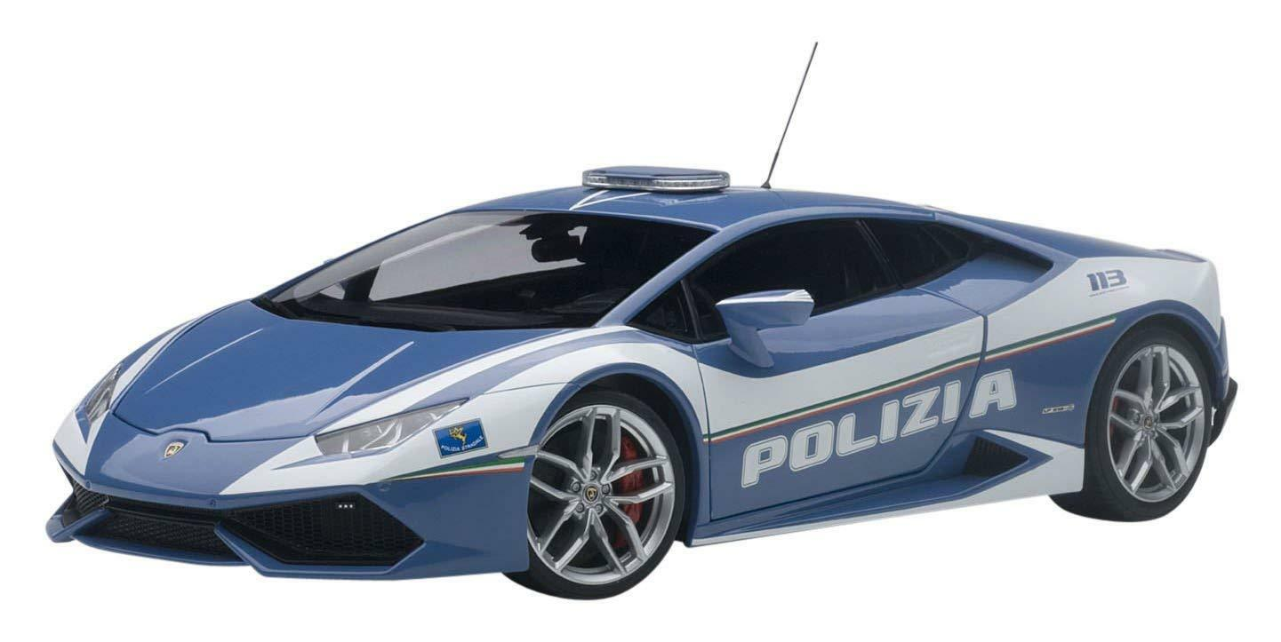 AUTOart 1 18 Lamborghini Urakan LP 610-4 police car finished product F S