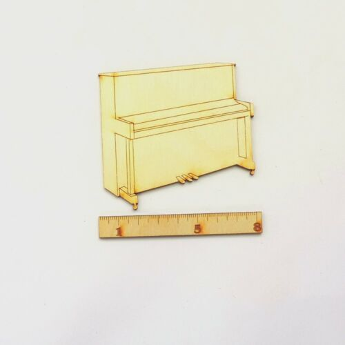 Klavier aus Holz 8 cm Musikinstrument Geschenk Geldgeschenk Musiker