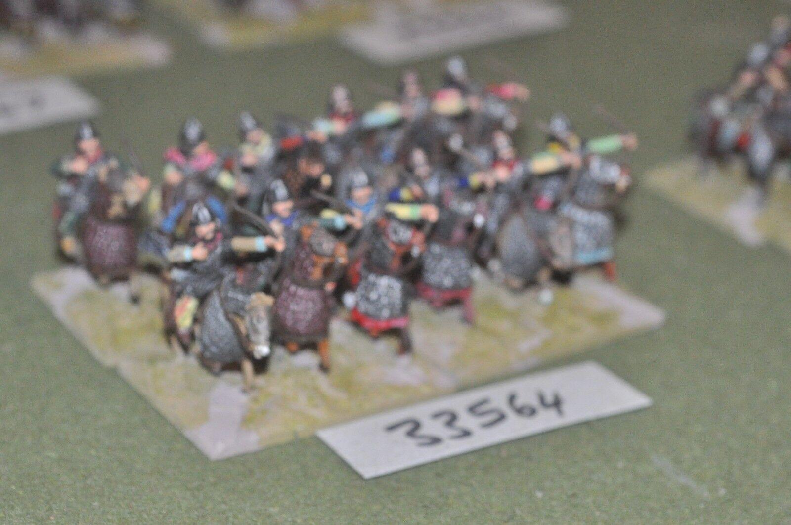 25mm roman era   sarmatian - heavy 12 figures - cav (33564)
