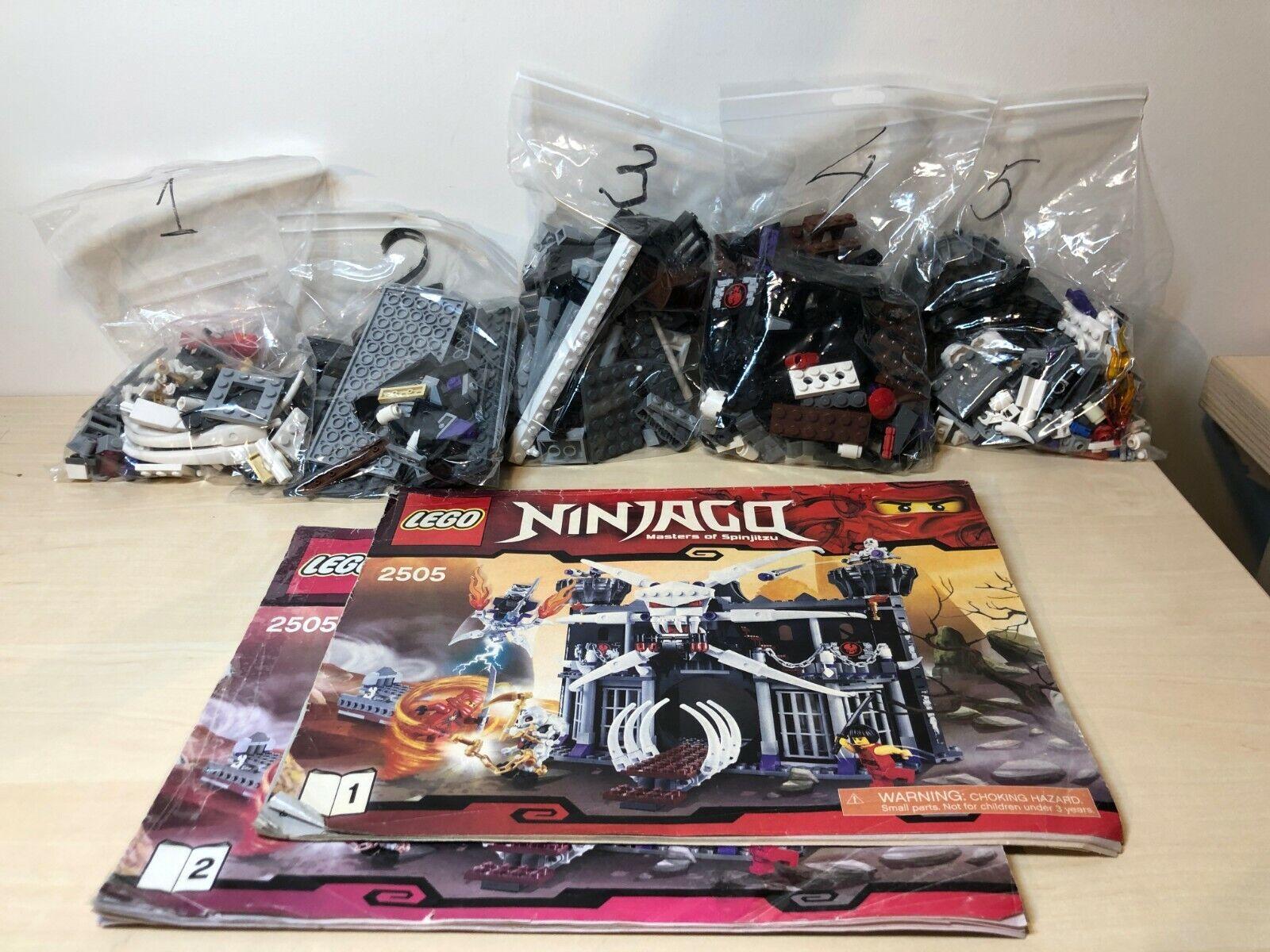 LEGO 2505 NINJAGO Garmadon's Dark Fortress Full complete, only no Box