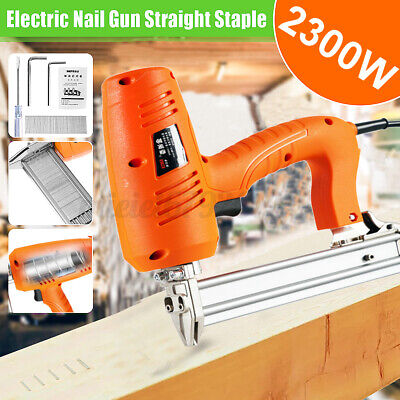 2300W Electric Staple Gun framing Straight Nail Heavy Duty Woodworking PowerTool