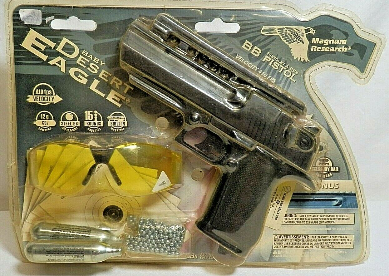 Magnum Research Baby Desert Eagle Co2 Nonblowback Airsoft 493fps W 1000 Bbs For Sale Online Ebay