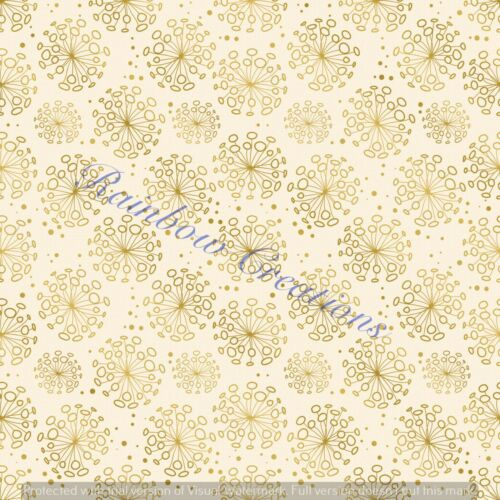 Daisy floral A4 Hair bow making printed canvas fabric material for templates