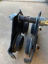 Chain Hoist I Beam Trolley 1 Metric Ton 2000lbs Used