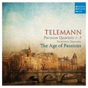 THE-AGE-OF-PASSIONS-GEORG-PHILIPP-TELEMANN-PARISER-QUARTETTE-CD-19-TRACKS-NEW