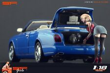 1/18 Short Dress Girl VERY RARE !! figure for1:18 CMC Autoart Ferrari MR Exoto