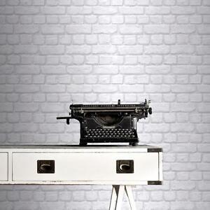 Nuovo rasch bianco muro di mattoni finto effetto lusso for Carta da parati effetto mattoni