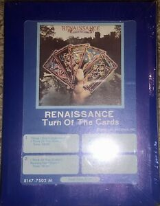 NEW-SEALED-RENAISSANCE-TURN-OF-THE-CARDS-8-TRACK-TAPE-UNOPENED-SUPER-RARE-LOOK