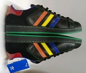 Details about Adidas Superstar Ii 2 Black Blue Orange Green Red Mens Size 11