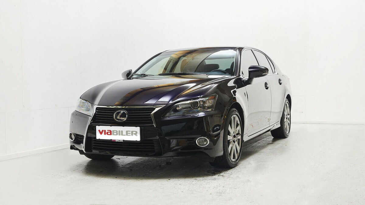 Lexus GS450h 3,5 L2 aut. 4d - 329.800 kr.