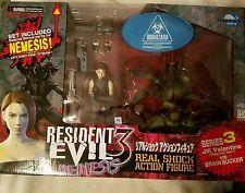 JILL VALENTINE vs BRAIN SUCKER Resident Evil 3 NEMESIS Action Figure