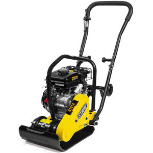 79cc-2000Lbs-Compaction-Force-Walk-Behind-Vibratory-Gas-Plate-Compactor-Rammer-S