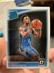 2018-19-Donruss-Optic-Rated-Rookie-Hamidou-Diallo-171-OKC-Thunder-QTY