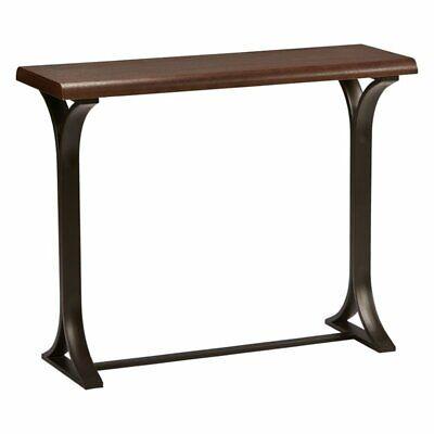 International Caravan Hamburg Wood Console Table In Sonoma Oak 700493943333  | EBay