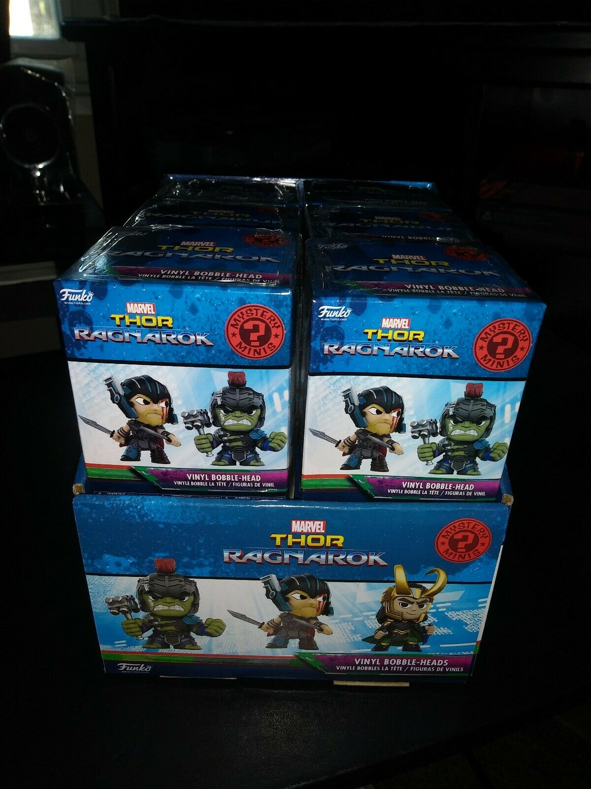 Funko Thor Ragnarok Mystery Minis Minis Minis Display Case of 12 Blind Box Figures 6a531d