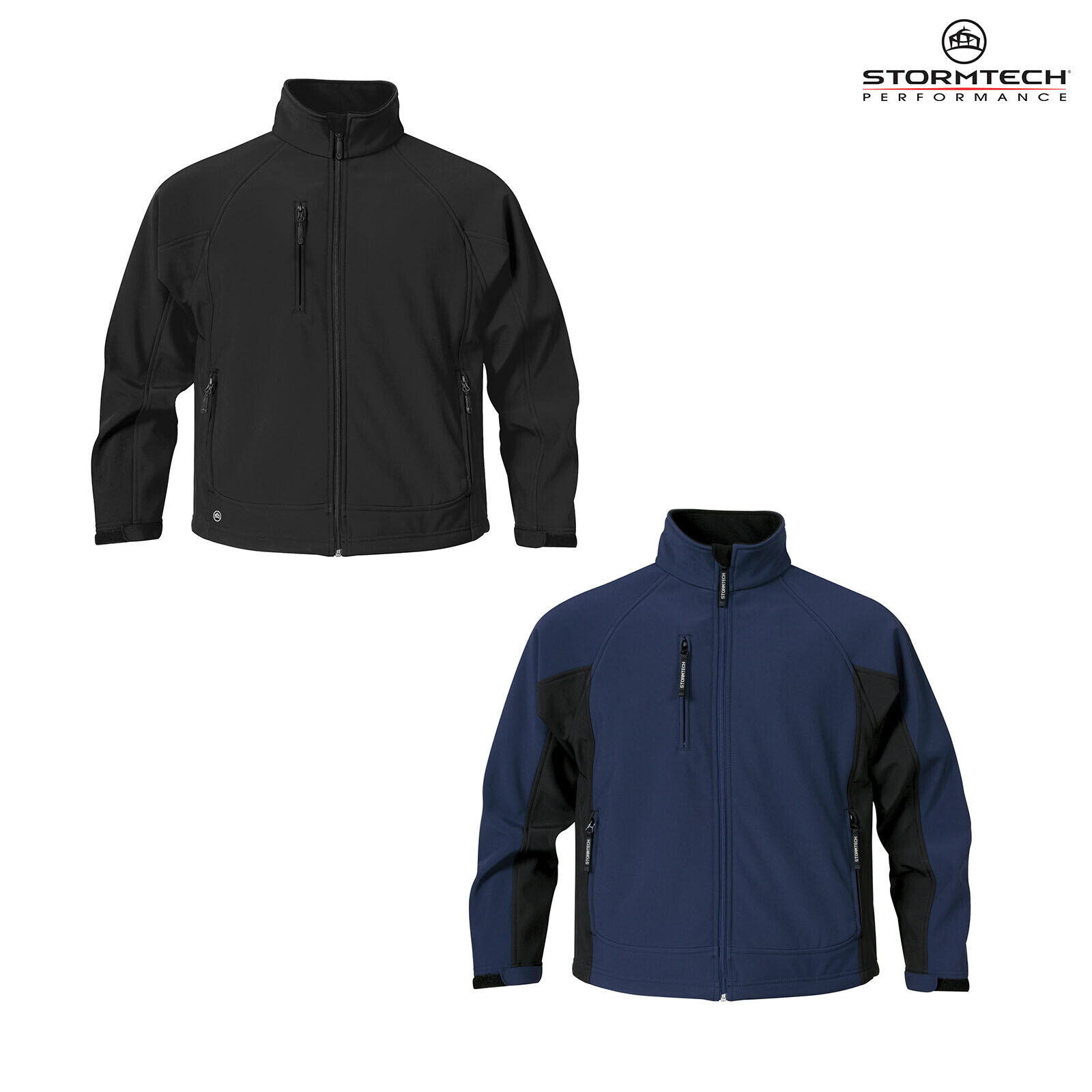 Stormtech mannen's Bonded Zippenetwerk Jasje CXJ-1 --Water Repellent Warm Fleece Coat