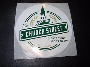TIRED HANDS hop hands alien church t STICKER decal craft beer brewery brewing