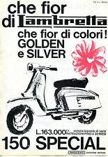 depliant VOLANTINO DEL 1965 INNOCENTI, LAMBRETTA  150 SPECIAL MOTO SCOOTER