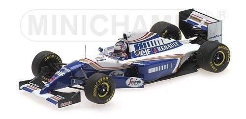 Williams RENAULT fw16 Nigel Mansell f1 ricongiungimento French GP 1994 1:43 Model