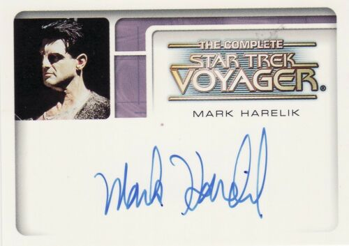 Complete Star Trek Voyager Auto Autograph Card Selection A1 to A11