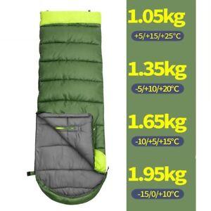 All-Season-Envelope-Sleeping-Bag-Camp-Hiking-Case-Waterproof-Outdoor-Home-Travel