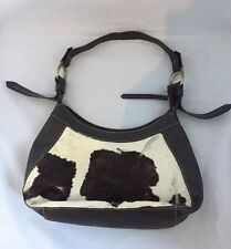 Jane Shilton Leather Handbag - Cow Hide - 14 x 7""