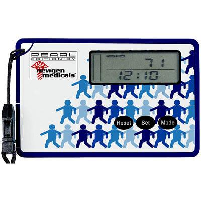 Schrittzähler mit 3D-Sensor und Uhr, im Scheckkartenformat