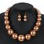 Women-Bohemian-Choker-Chunk-Crystal-Statement-Necklace-Wedding-Jewelry-Set thumbnail 169