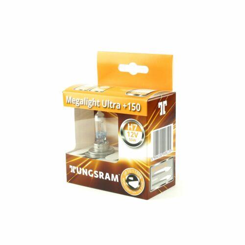 TUNGSRAM H7 12V 55W PX26d MEGALIGHT ULTRA 150/% More Light DuoBox