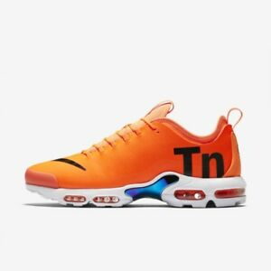 brand new 01082 66abb Details about Nike Air Max Plus TN Ultra SE Aq0242 800 Orange White Tiger  14 Og Mercurial Blue
