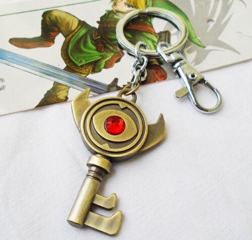 The Legend of Zelda Link Boss Keying Keychain Necklace Pendant Chain Gift