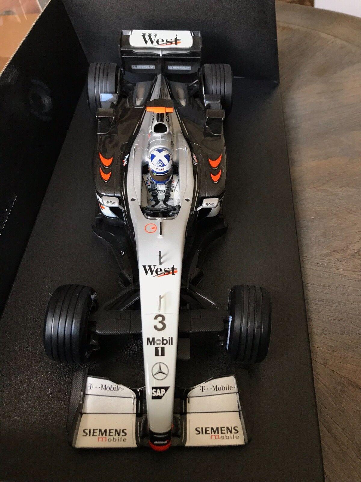 F1 McLaren-Mercedes MP4-17  West  David COULTHARD, MINICHAMPS 1 18 Neuf