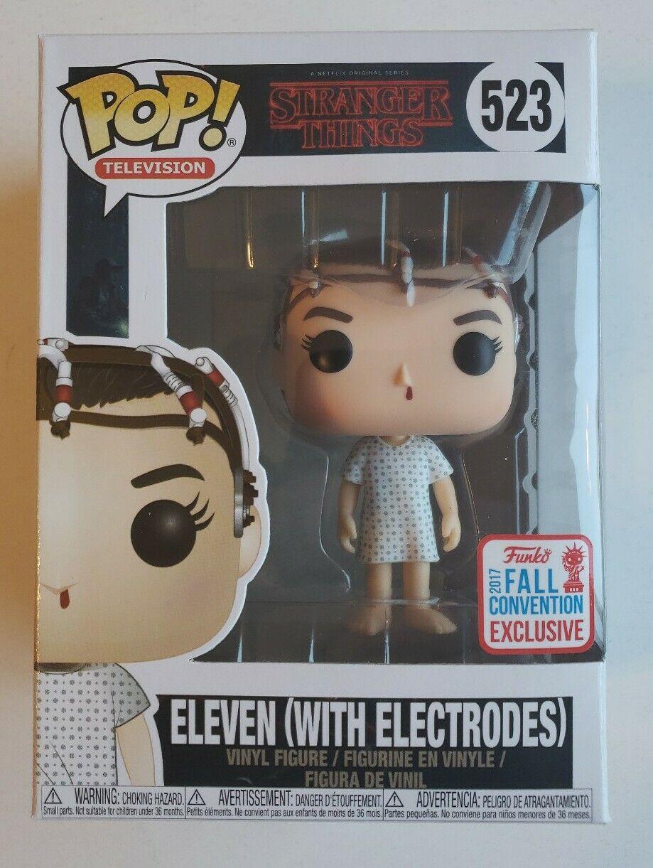 Funko Pop Stranger Things Eleven With Eggo Figura Vinilo Coleccion Figure Figura