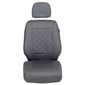 Schwarz Sitzbezüge für CITROEN C15 Autositzbezug VORNE