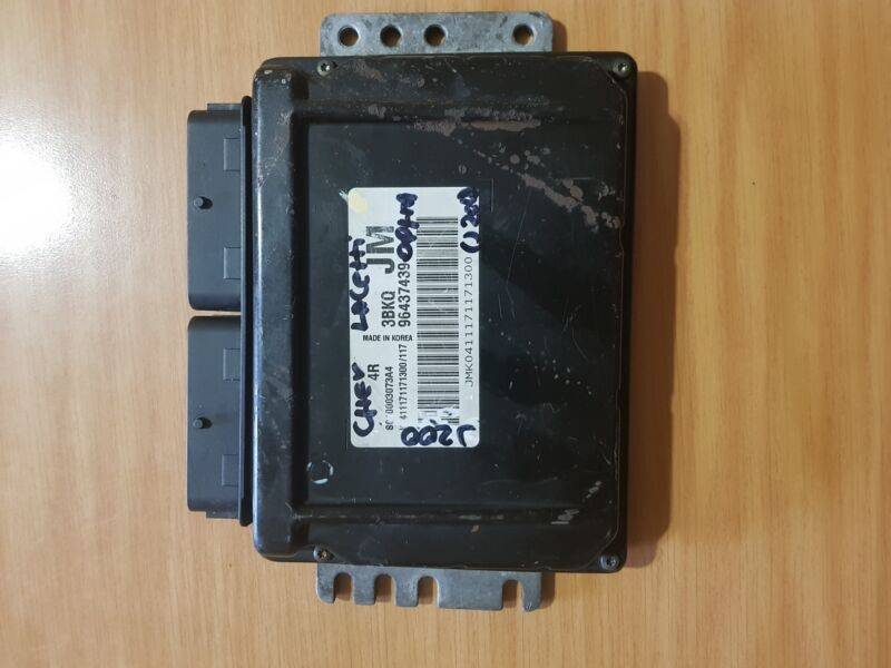 Chevrolet Optra J200 1.6i 2007 Manual ECU part#96437439