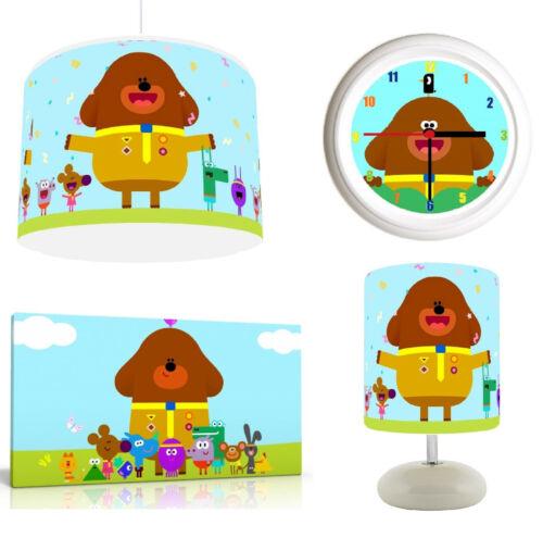 Hey Duggee Hug Room Bundle Choice Light Shade Canvas Art FREE P/&P Lamp Clock