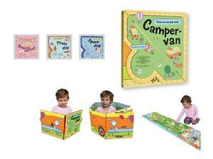 Convertible-3in1-Play-Book-Campervan-Pirat-Ship-Spaceship-Princess-Carriage-3