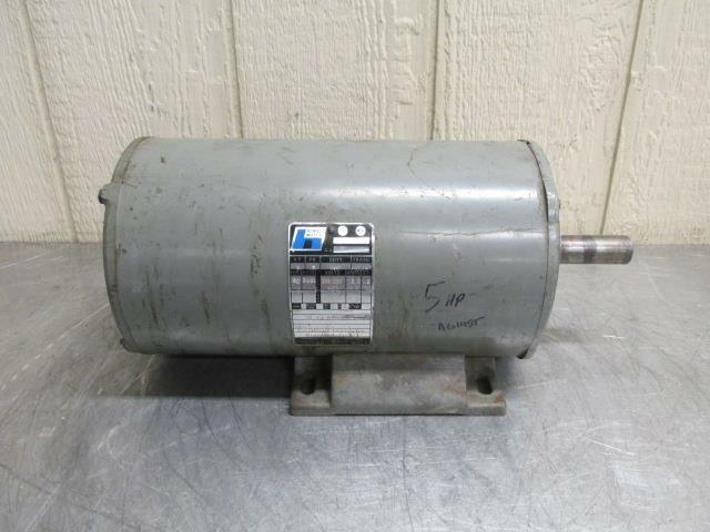 3 phase 208//460 V 14-12 A 3450 rpm 5 hp baldor electric motor