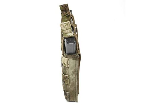 ELITE OPS TRIPLE MOLLE OPEN MAGAZINE POUCH SUIT 5.56mm SHINGLE CORDURA
