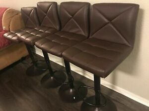 Groovy Details About High Swivel Bar Stool Total 4 Sets Of 2 Ncnpc Chair Design For Home Ncnpcorg