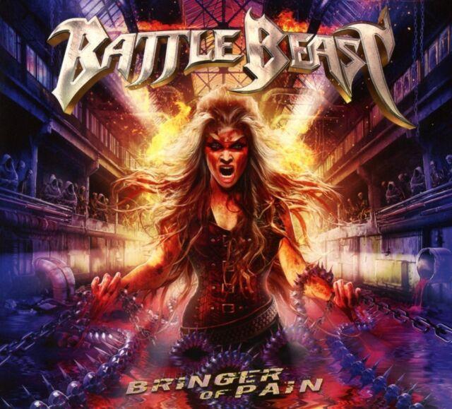 BATTLE BEAST : Bringer Of Pain (Ltd. Black Vinyl LP)  2 LP  NEU u. OVP